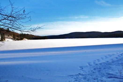 Lac Philippe en hiver