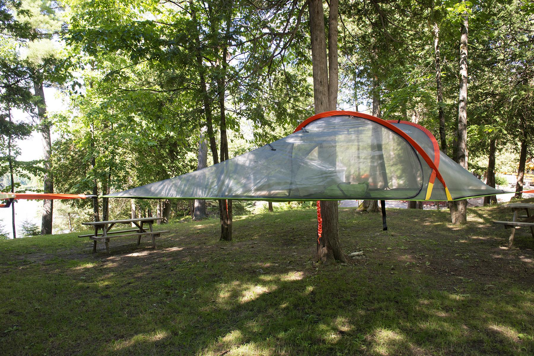tentes suspendues de Horizon X-2