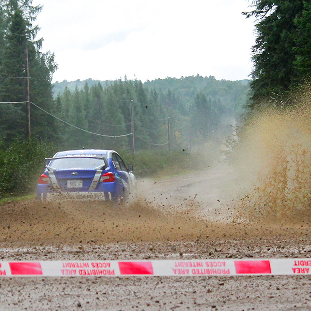 Défi Rallye - course automobile