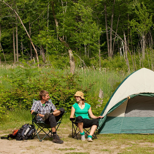 Camping Parc national de Plaisance