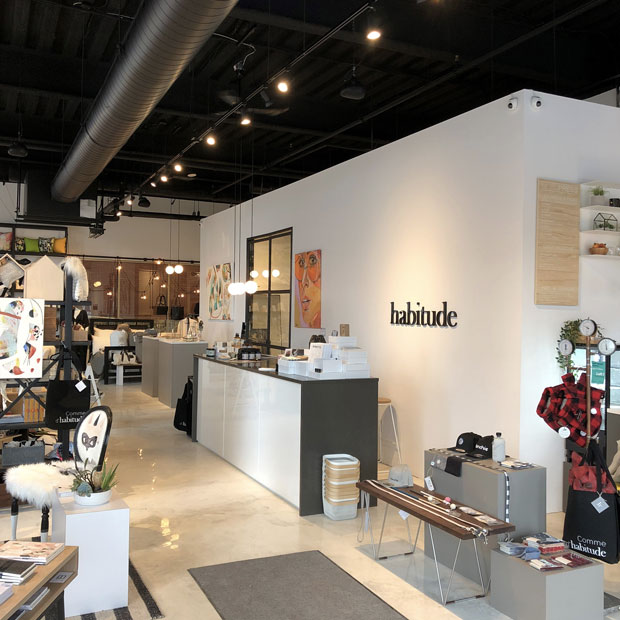 Habitude shop Design in Canada