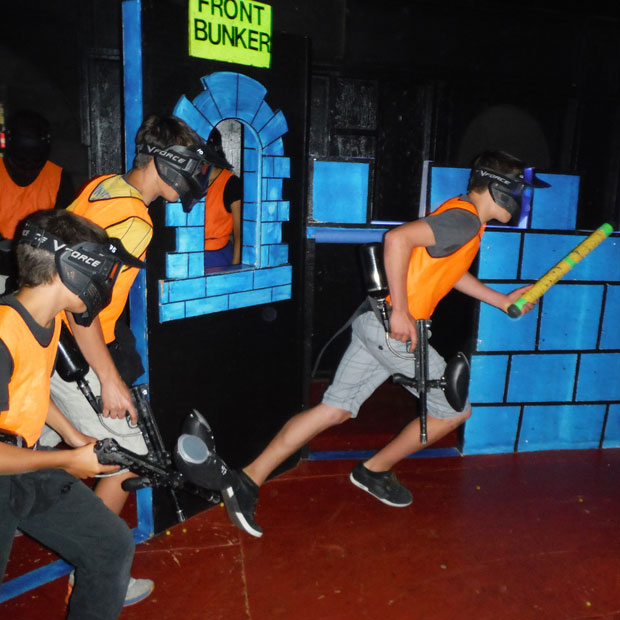 Tag Zone – indoor paintless paintball