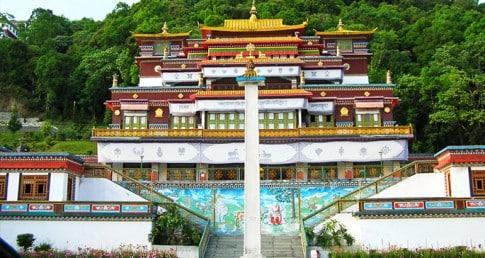 Visiting Rumtek Monastery
