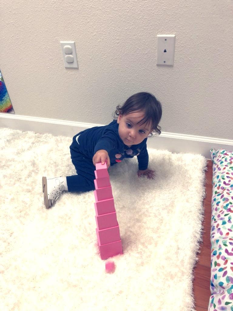Baby stacking blocks