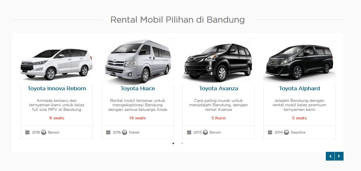 Rental Mobil Bandung Jawa Barat