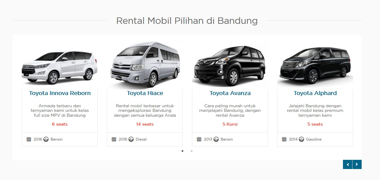 Rental Mobil Bandung Timur