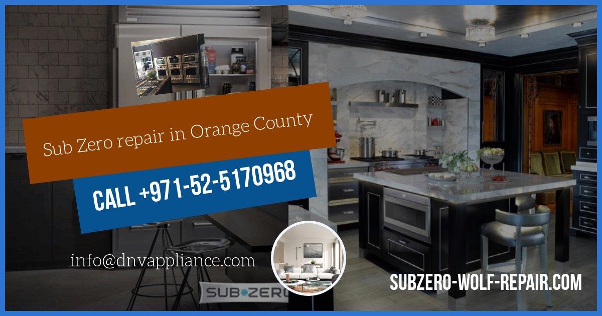 orange county sub zero repair