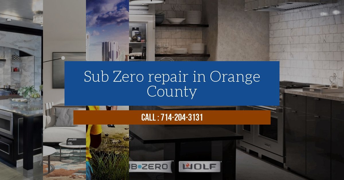 repair service for sub zero refrigerator