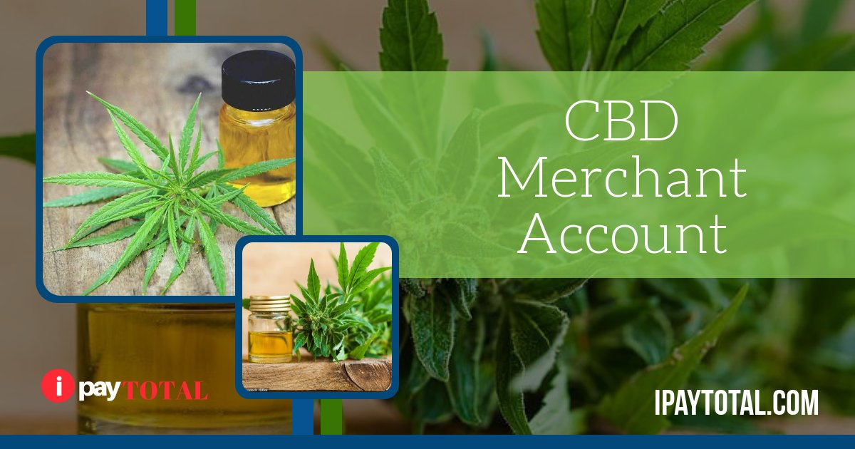 CBD oil merchant account services