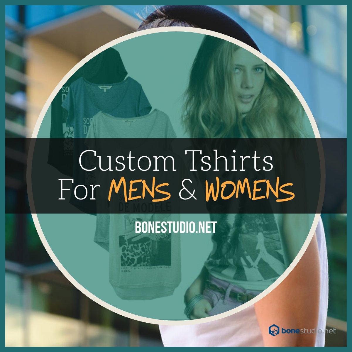 t shirts customised
