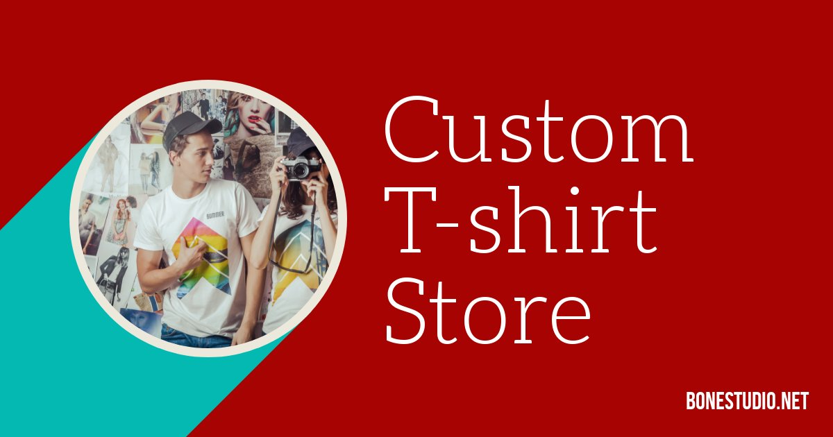 t shirts custom near me