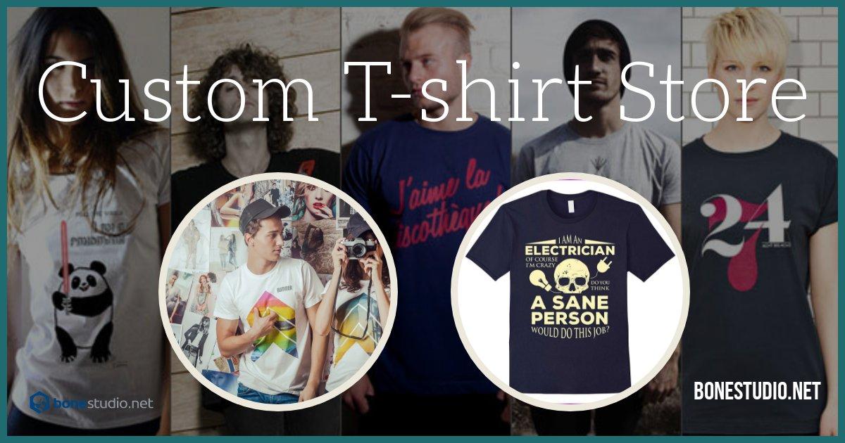 custom t shirts