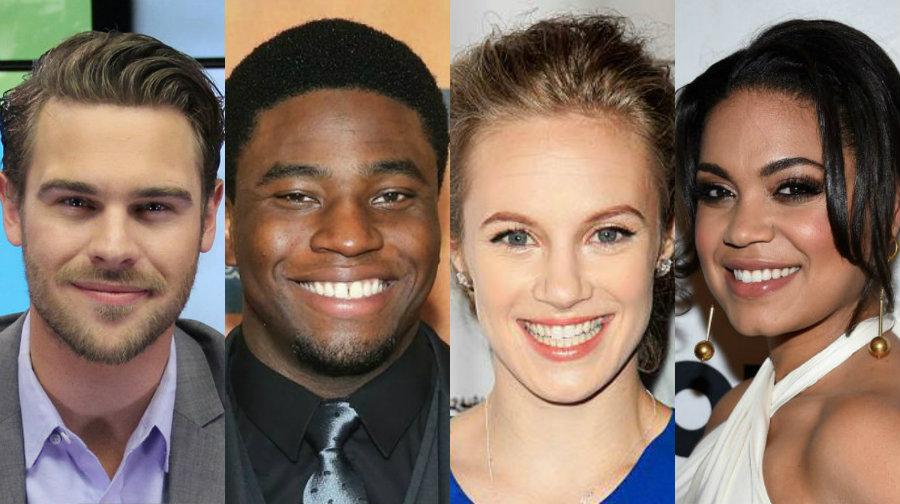 Grey Damon Okieriete Onaodowan Danielle Savre Barrett Doss Cast