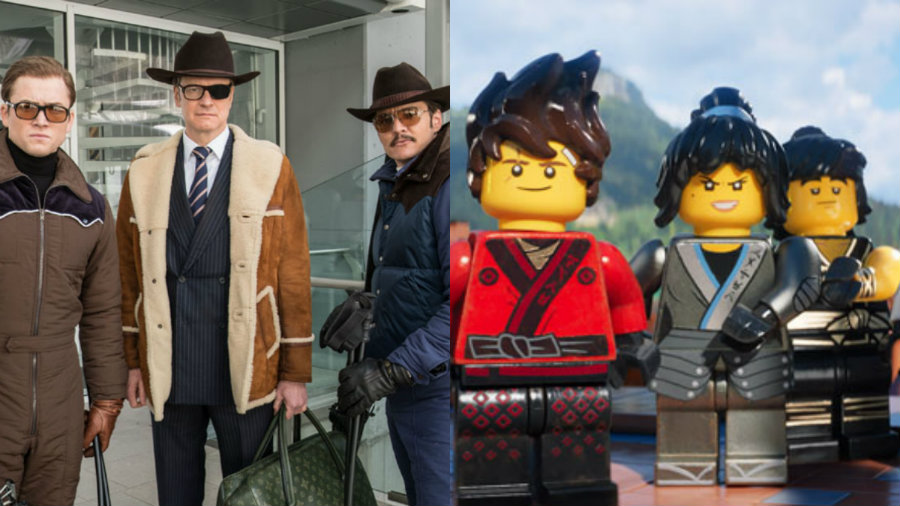 Kingsman The Golden Circle And The Lego Ninjago Movie Will Try