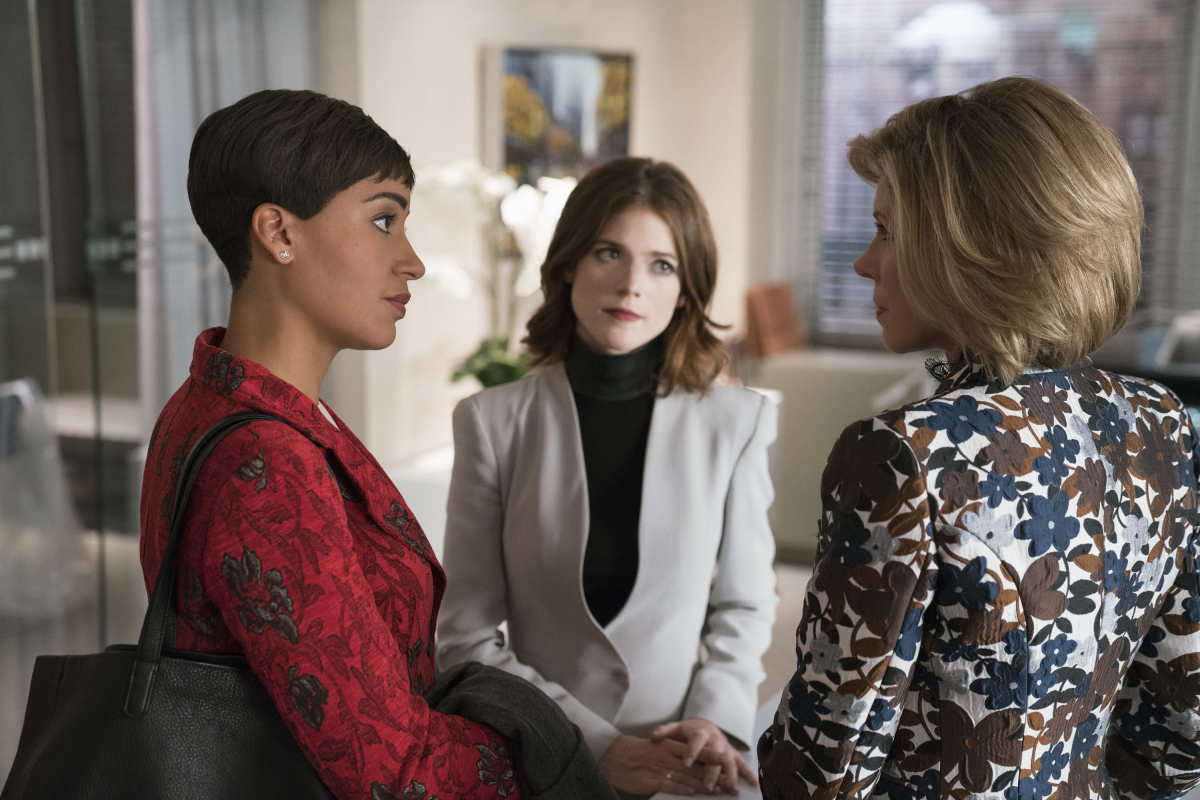 The Good Fight Review Season Two The Tracking Board After three seasons on the good fight, rose leslie is moving on. https www tracking board com the good fight season two