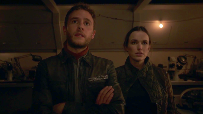 Fitz and Simmons inspect their new project