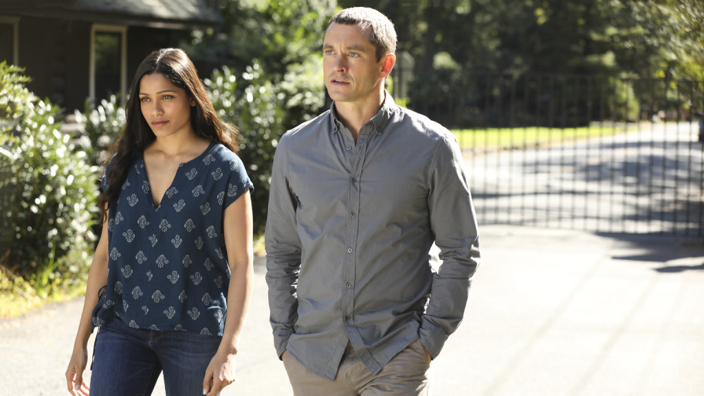 Hugh dancy and frieda pinto have a realization of their shared past 2f54d967