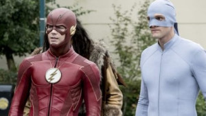 Barry and elongated man in costume 715897b7