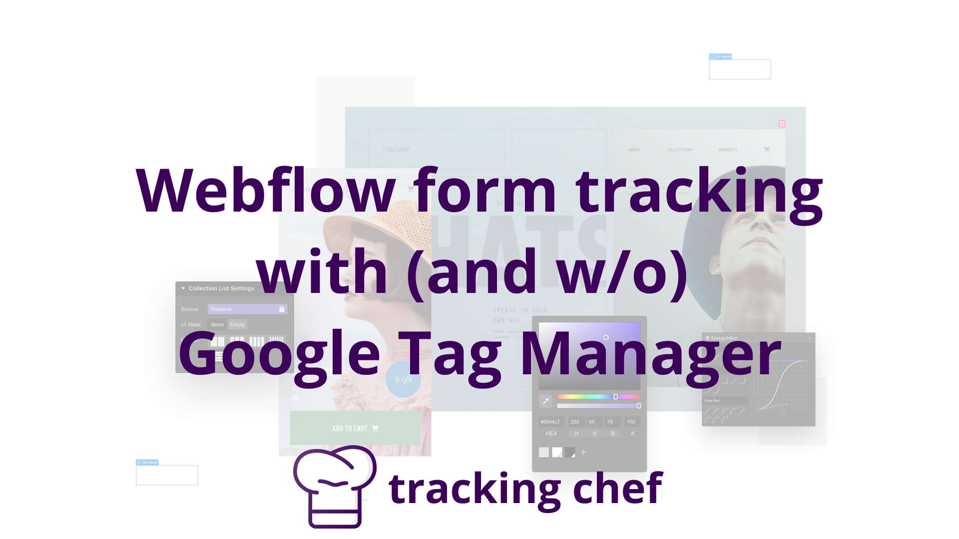 Webflow form tracking with (and w/o) Google Tag Manager