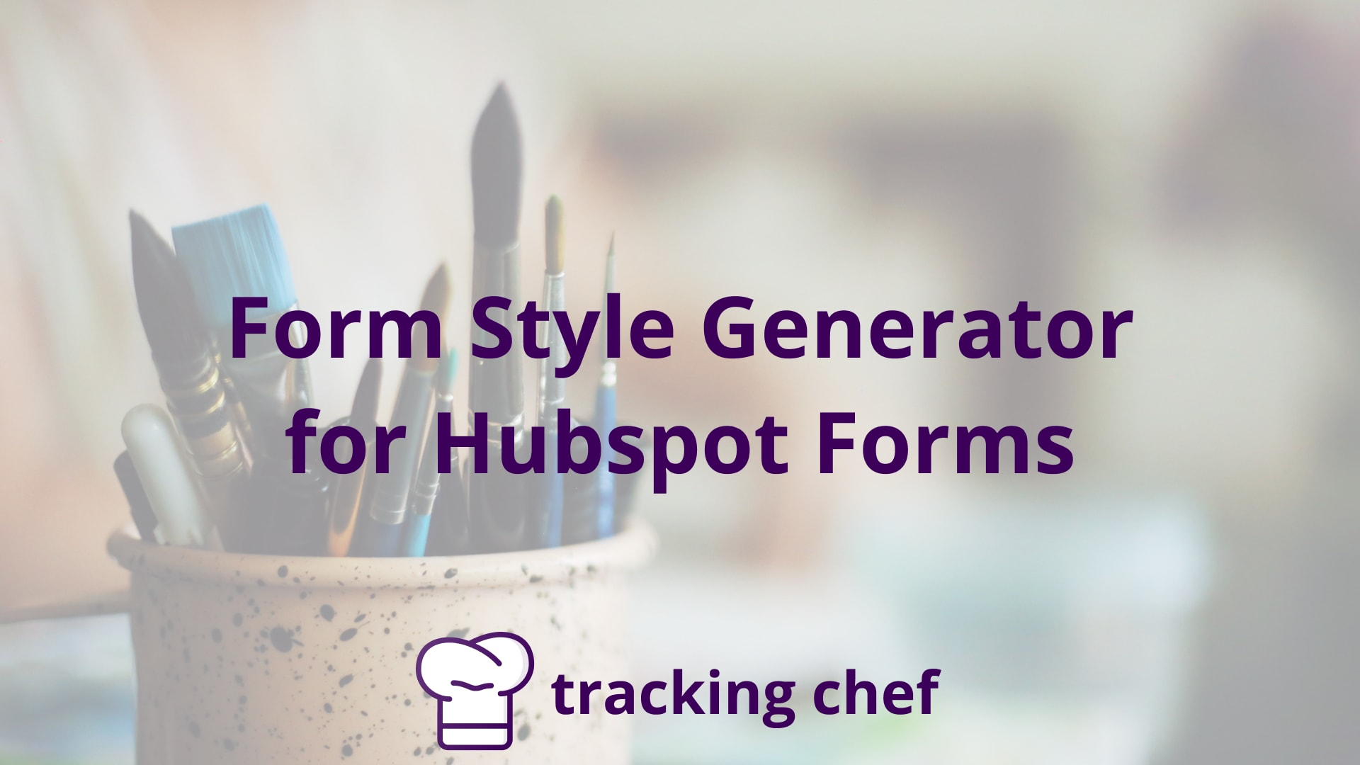 Form Style Generator for Hubspot Forms