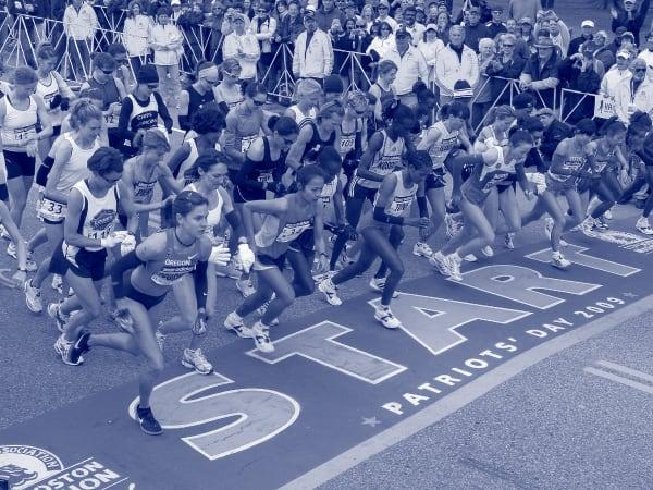 Boston Marathon At The Trackhouse