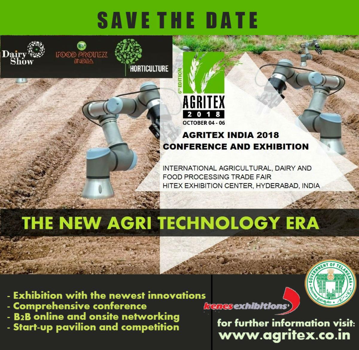 Agritex India 2019 (Hyderabad)