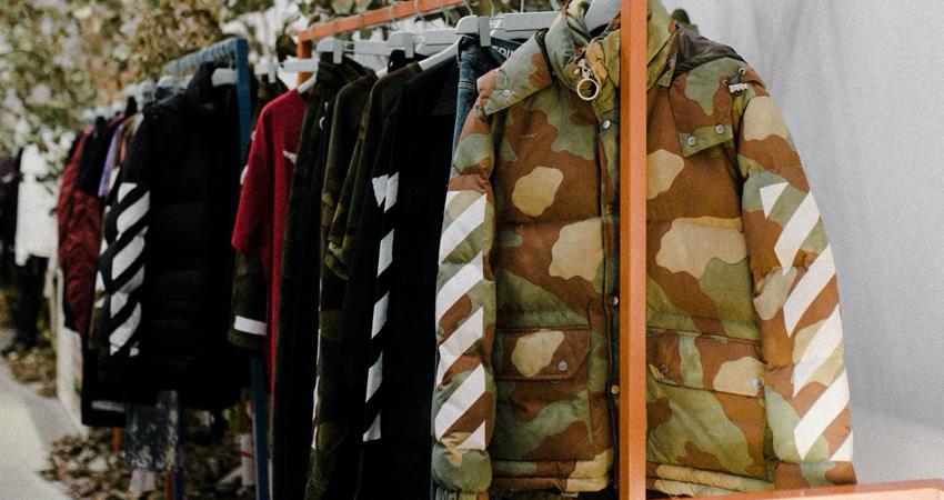 Camouflage jacket for men