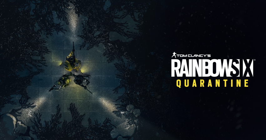 gaming - tom clancys rainbow six quarantine