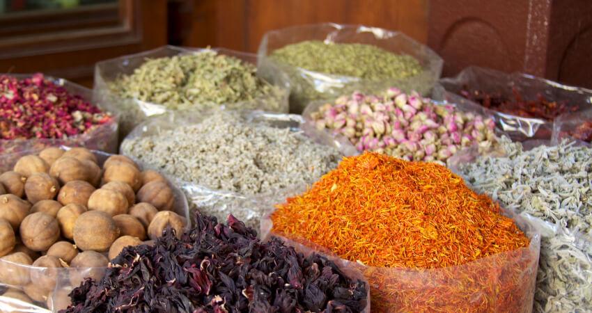 Spices at Deira Spice Souk