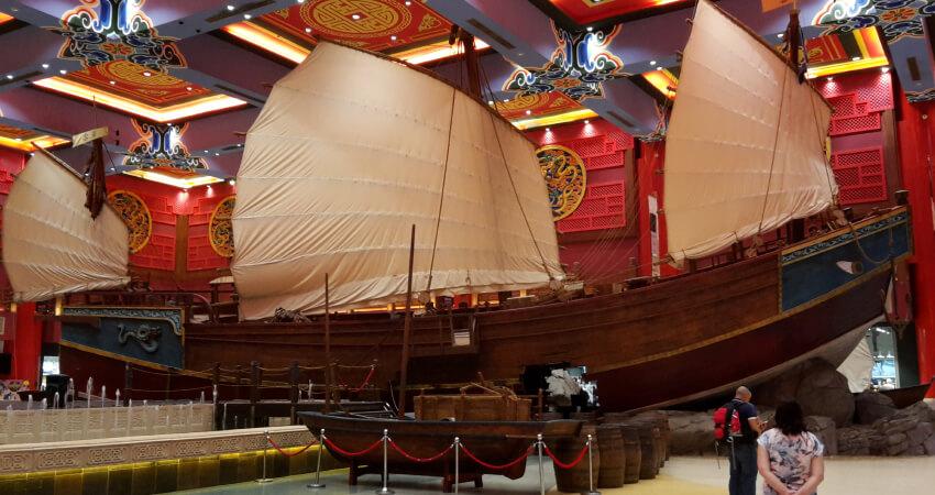 Boat at Ibn Battuta Mall