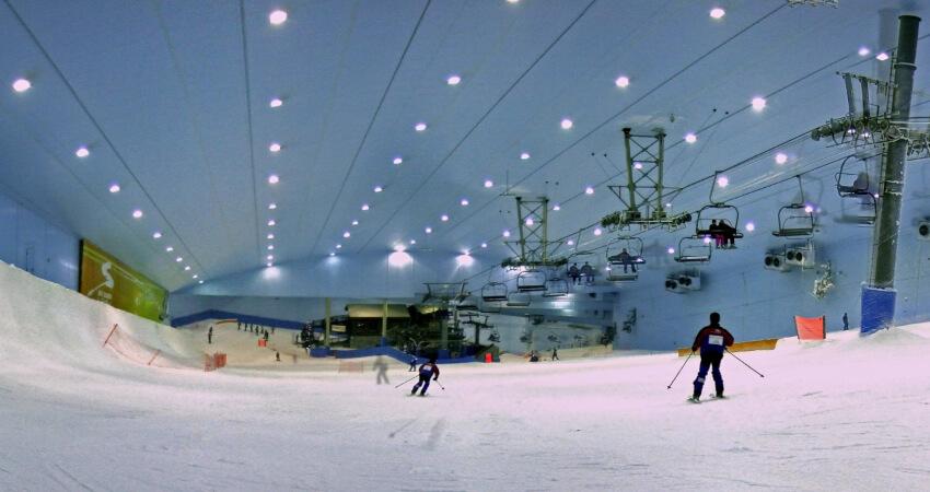 Dubai Ski at Mall of Emirates