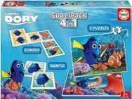 Educa Disney Pixar Finding Dory SuperPack 4in1 2 Puzzles (16691)