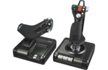 Logitech X52 Professional H.O.T.A.S. - Part-Metal Throttle and Stick S With Free Gift
