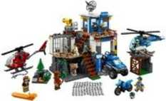 LEGO Mountain Police Headquarters (60174) With Free Gift