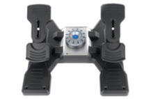 Logitech Flight Rudder Panel Professional Simulation Rudder Pedals Wit With Free Gift