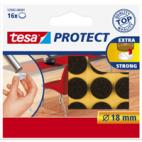 Tesa Vilt Rond 18mm Bruin