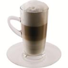 Scanpart Latte Macchiato Kop en Schotel