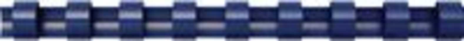 Fellowes bindruggen, pak van 100 stuks, 12 mm, blauw