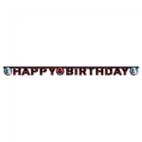 """""""Happy Birthday"""" gestanste banner - Star Wars-feestartikelen"""