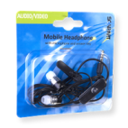 Scanpart Oortelefoon iPhone/iPod In-Ear + Microfoon Zwart