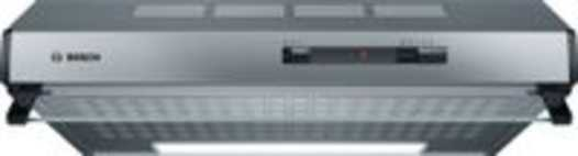 Bosch Serie 2 DUL62FA51 afzuigkap 250 m³/uur Muurmontage Roestvrijstaal D