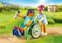 Playmobil City Life Patient in rolstoel 70193