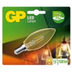 GP Filament-LED Lamp Vintage Gold Kaars 1,2W E14