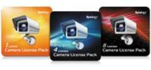 Synology 4 camera's licentie