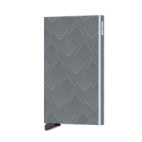 Secrid Cardprotector Kaarthouder Laser Structure Titanium
