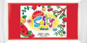 Darwi boetseerpasta Super Softy 350 g, rood