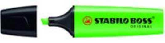 STABILO BOSS Original markeerstift 10 stuk(s) Groen