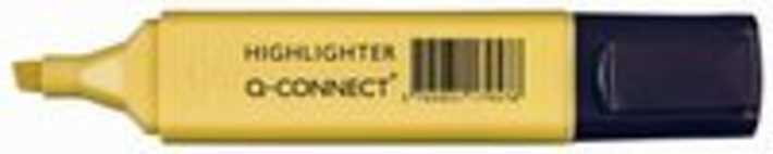 Q-Connect markeerstift pastel, geel