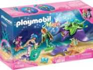 Playmobil Magic parelvissers met roggen 70099