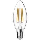 Gp Led Lamp E14 5W 470Lm Kaars Filament Dimbaar